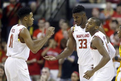 Maryland center Diamond Stone shows progress with career game off bench