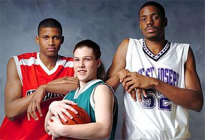 Archbishop Spalding's Rudy Gay, Arundel's Alex McGuire and Mount St. Joseph's Will Thomas