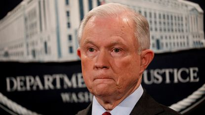 Attorney General Jeff Sessions said in speech Wednesday that a civil rights decree designed to reform the Baltimore Police Department was linked to rising crime.