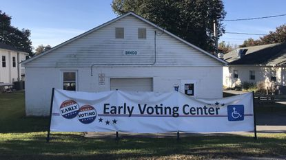 The Howard County Fairgrounds is one of four early voting centers in Howard County.
