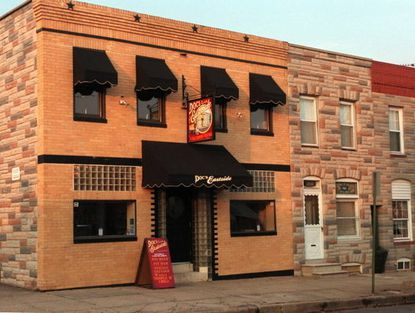 Exterior of 2522 Fait Ave., which housed Doc's Eastside Bistro and later Lager's Pub. Canton Beer Exchange will take over this Fall