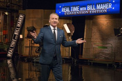 """In this 2016 photo, Bill Maher appears during a special broadcast of HBO's """"Real Time with Bill Maher: Convention Edition."""" Maher is one of several political satirists on TV enriching the conversation of democracy in the age of Donald Trump."""