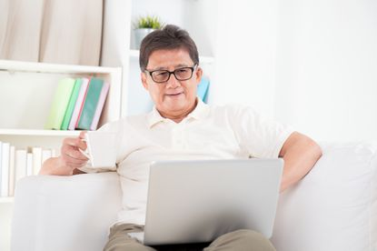 Many retirees are attempting to find part-time work from home.