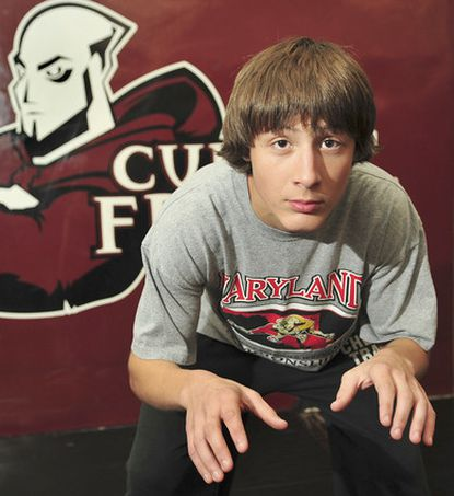 Sophomore Brett Przywara of Archbishop Curley could be among those who excite the wrestling community the next few seasons.