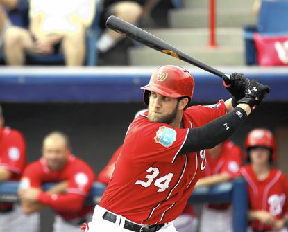 Under Armour signed the Washington Nationals' outfielder Bryce Harper to an endorsement deal in 2011.