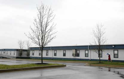 The Woodmont Academy, which closed in 2011, had a number of modular buildings on its campus.