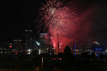 End-of-Summer fireworks show takes place at the Inner Harbor on September 5, 2021