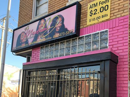 A woman was murdered inside a beauty shop at 241 North Milton Avenue on Dec. 21. 2019.