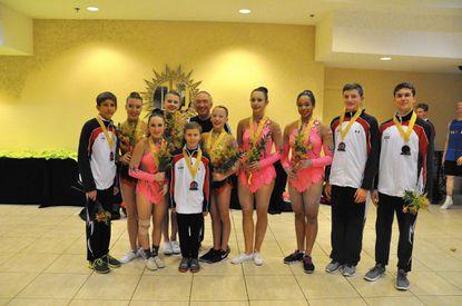 Emilia's shines at Pan American Gymnastics Championship