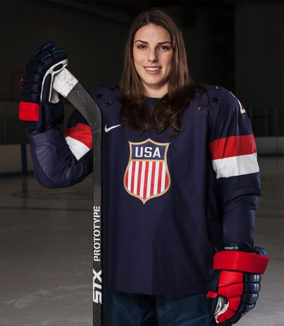 U.S. Olympian Hilary Knight will join Baltimore-based STX to promote hockey equipment under a five-year agreement.