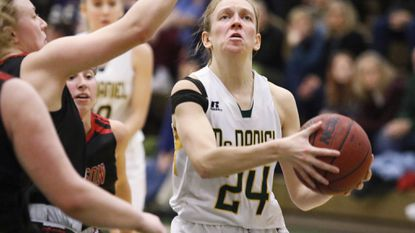 Women's Basketball: Tsomos goes for double figures, but McDaniel falls to Franklin & Marshall