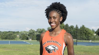 2018 All-Metro girls outdoor track and field Performer of the Year: Jada Seaman, McDonogh