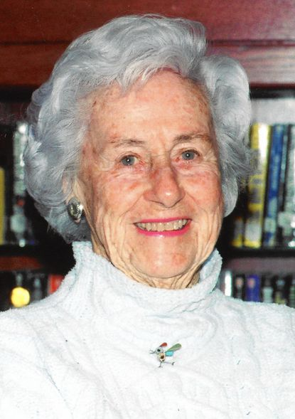 Marianna Daly Edmunds was a hospital volunteer active in local charities from Ruxton.