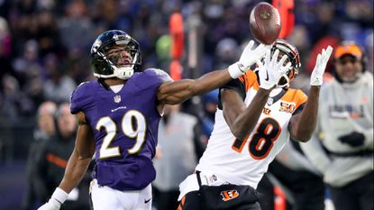Marlon Humphrey was charged with third-degree robbery.