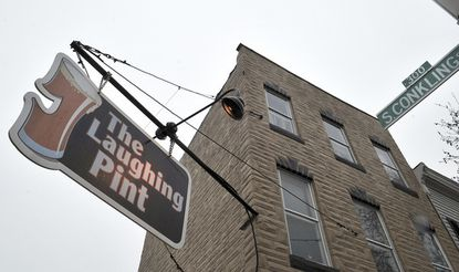 Highlandtown staple The Laughing Pint is closing later this month, owner and bartender Shannon Cassidy announced on Facebook Wednesday. Cassidy says it's time to try something else after 13 years and has a buyer lined up for the bar and restaurant.