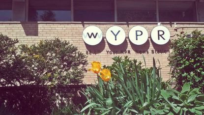 The WYPR offices on North Charles Street