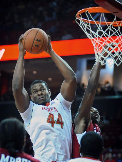 Shaquille Cleare and the Terps expect to face much more resistance inside now that they've reached conference play. Their first ACC game is at noon Saturday against Virginia Tech.