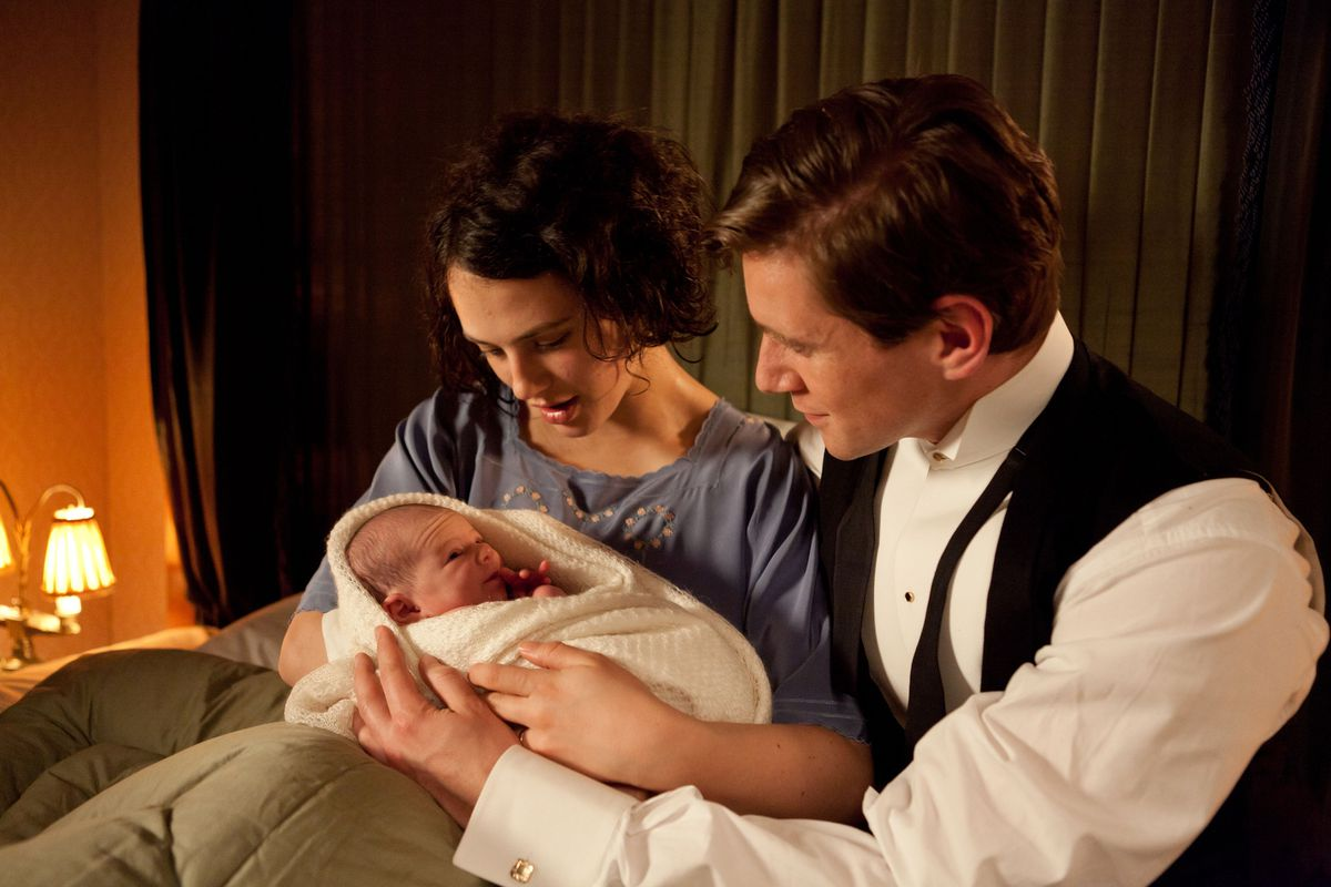 Did anna baby why died bates Downton Abbey's