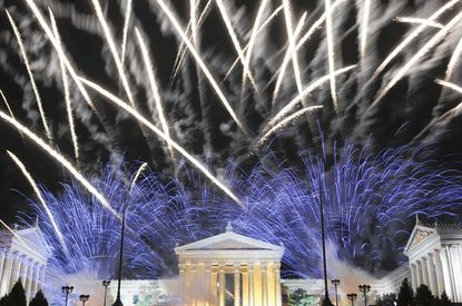 Philadelphia's Wawa Welcome America celebration culminates with fireworks.