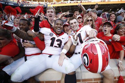 Georgia, Alabama top first College Football Playoff rankings of season; Notre Dame ranked 3rd