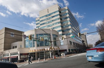 The long vacant Towson Commons building at York Road and Pennsylvania Avenue is being redeveloped with a gym and new restaurants. Commercial neighbors along York Road are also getting a facelift with the help of the county.