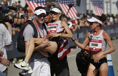Amy Cragg and Shalane Flanagan work together to make U.S. Olympic team