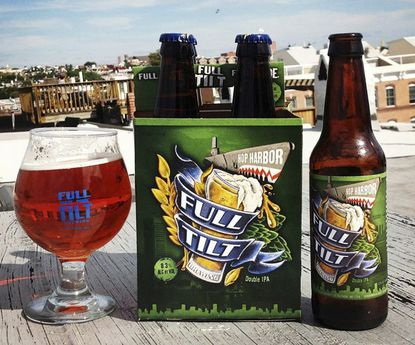 Hop Harbor IPA by Full Tilt Brewing. The Baltimore brewing company plans to open a Towson brewpub next year.