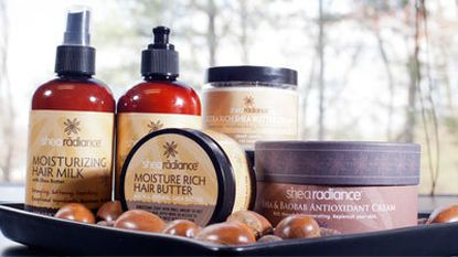 Shea Radiance products are made from shea butter imported from Nigeria.