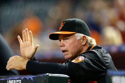 Buck Showalter was instrumental in building the expansion Arizona Diamondbacks. Monday was his first time he managed at their ballpark as the opposition.