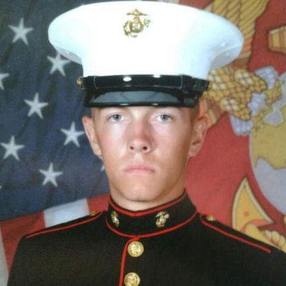 An undated photo provided by the U.S. Marine Corps shows Marine Cpl. William Ferrell of Carthage, North Carolina.