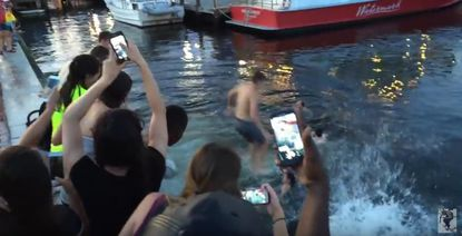 Expert: Tourists who swam in Inner Harbor basically jumped in a big ol' toilet of shit