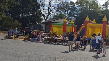 The annual Hampstead Fall Fest will be held this Saturday, Oct. 6, from 9 a.m. until 5 p.m. at the Hampstead Volunteer Fire Company. This photo has children of all ages playing during the 2017 Fall Fest.