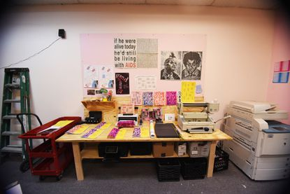 Interdisciplinary collective Press Press opens up a public studio for publishing, a library, and more