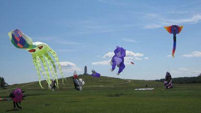 The 40th annual Wright Kite Festival returns to Kill Devil Hills July 14-15.