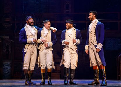 "The touring company of ""Hamilton,"" was last in Baltimore this summer."