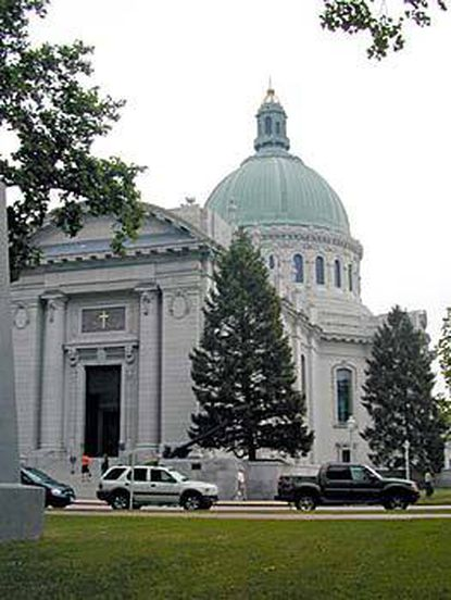 The Chapel on the campus of the USNA is also known as the Cathedral of the Navy.