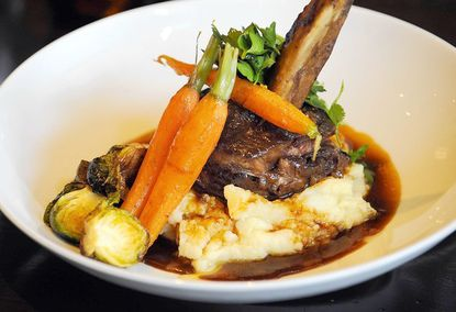 Sabor offers such dishes as braised short ribs.