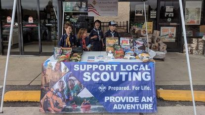 Coed Cub Scout Pack 602 was chartered in June and keeps busy with hikes, camping and popcorn sales.