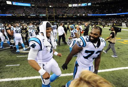 Michael Oher landed with Super Bowl-bound Panthers through Cam Newton's Ravens connection
