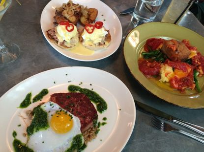 Hangover Helper: With its brunch, Fork & Wrench matches the precisely executed dishes on its dinner menu