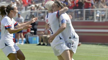 U.S. women have a ragged effort in World Cup tuneup win over South Africa