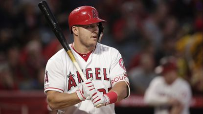 Proof that Angels star Mike Trout hits the ball harder and harder