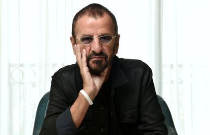 Ringo Starr — shown here posing for a portrait in West Hollywood, Calif., last month — will play Baltimore in October.