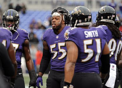 Terrell Suggs, Chris Canty, Eugene Monroe miss third practice this week