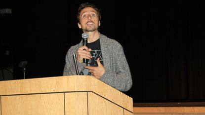 """Beautiful Boy"" Nic Sheff shares his story at Harford addiction and recovery symposium"