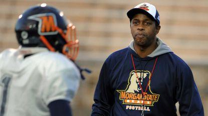 Morgan State coach Lee Hull.