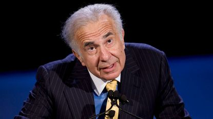 <p>Private equity investor Carl Icahn in 2007.</p>