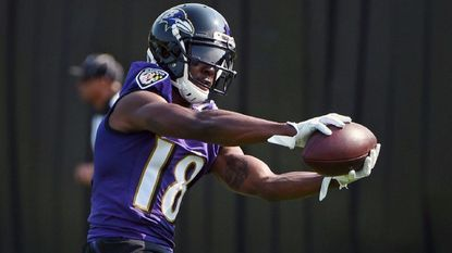 Ravens wide receiver Jeremy Maclin will miss his second straight game today with a shoulder injury.