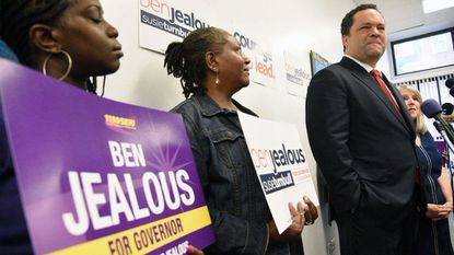 The Ben Jealous campaign is asking local television stations to stop running attack ads the campaign says are deceptive.