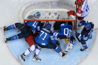 Sochi Olympics: Russian hockey dream fizzles in loss to Finland